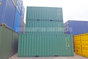 Shipping Container Stock Southampton