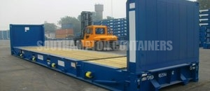 Flat Rack Container Southampton