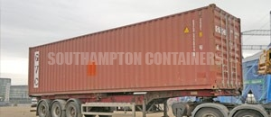 High Cube Specialised Container Southampton