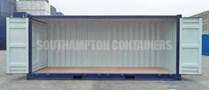 Side Opening Specialised Container Southampton